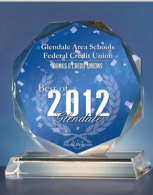 A best of Glendale award for GASCU