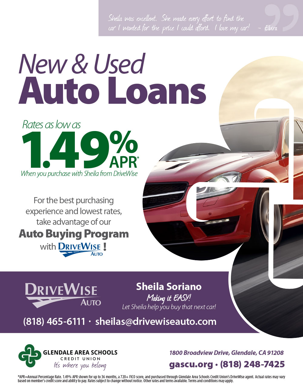 New and Used Auto Loans by Drivewise