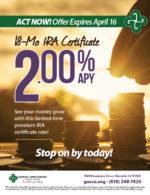 IRA 18 Month CD Promotion